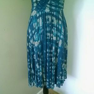 Anthropologie Dresses - Plenty by Tracy Reese print ruched sundress